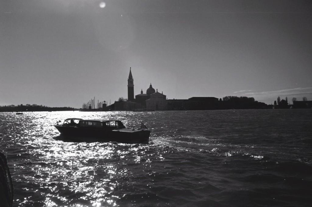 Venise à contre jour
