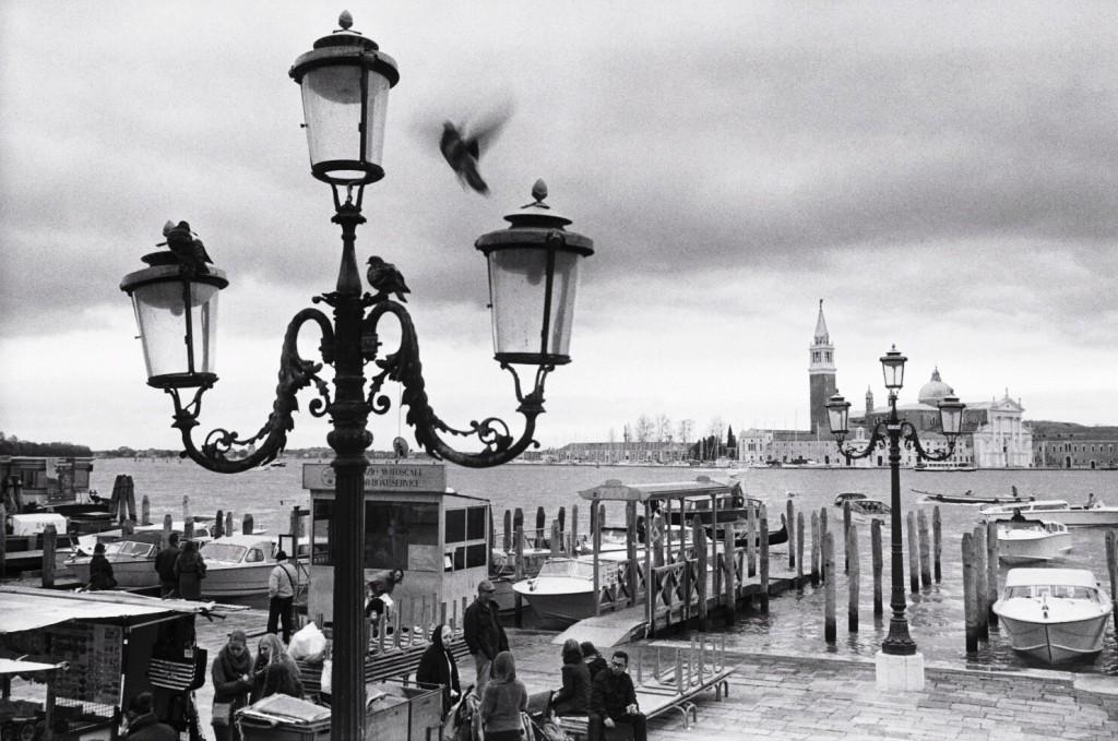 Venise sous les nuages