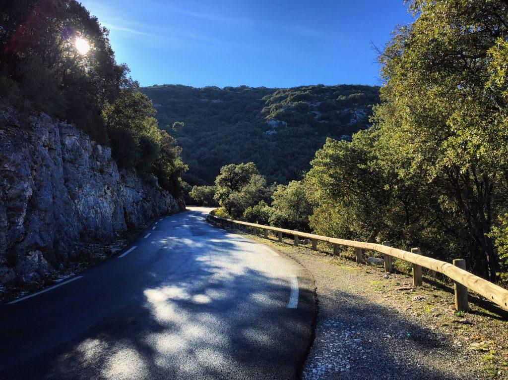 L'une des plus belles routes de France dans le Verdon