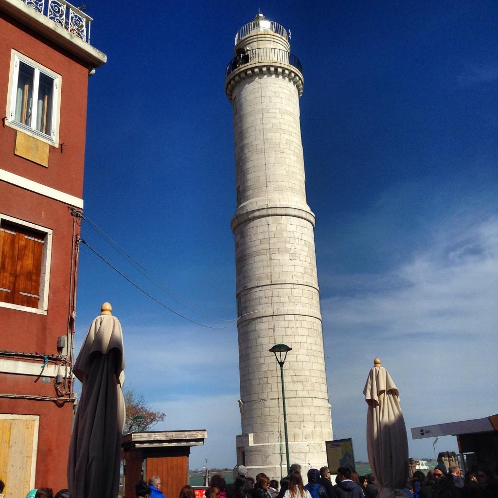 21. Le phare de Venise sur l'île de Murano