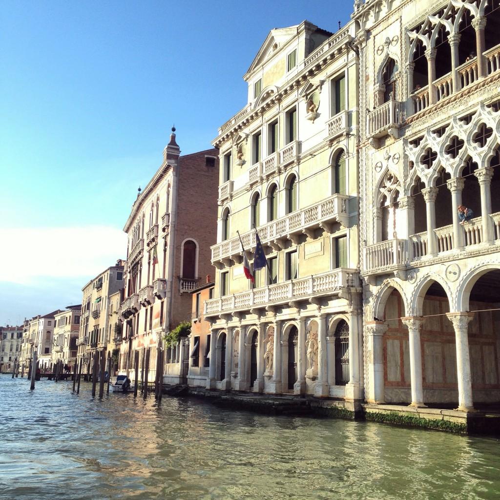 22. Des palais flottants on ne trouve cela qu'à Venise