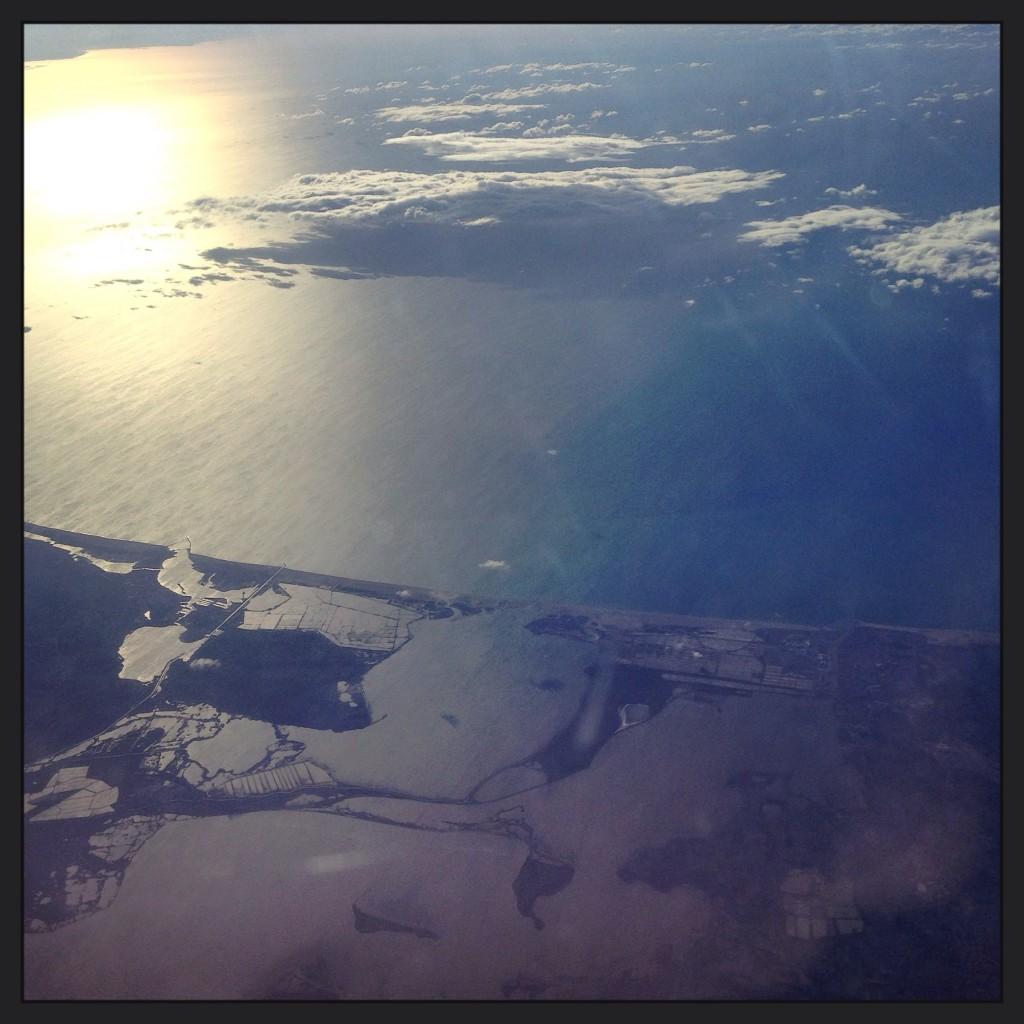 La Costa Brava vue du ciel