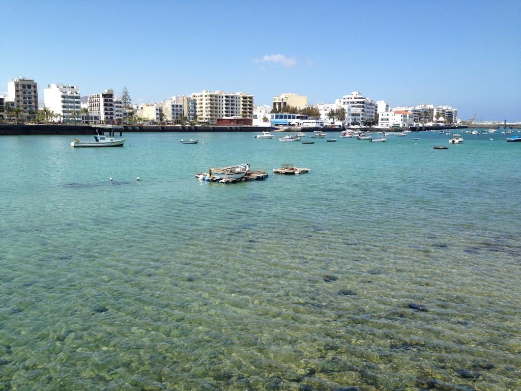 Arrecife la capitale de l'île de Lanzarote