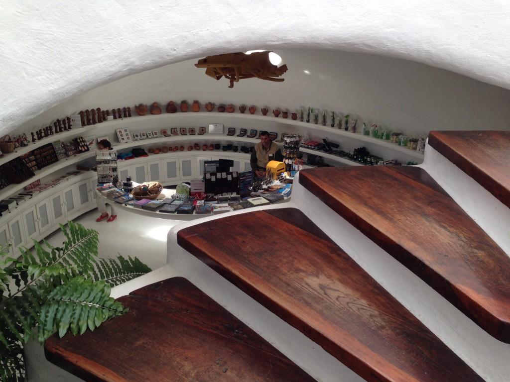 La boutique du musée Mirador del Rio