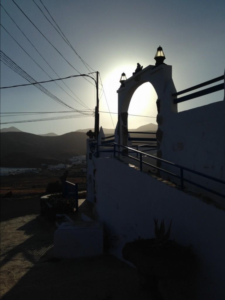 Le village de Playa Quemada