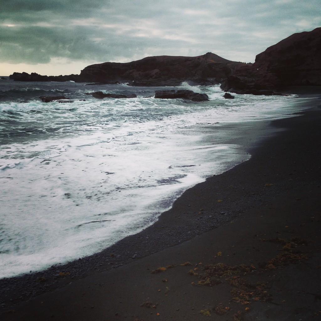 Les plages de sable noir del Golfo