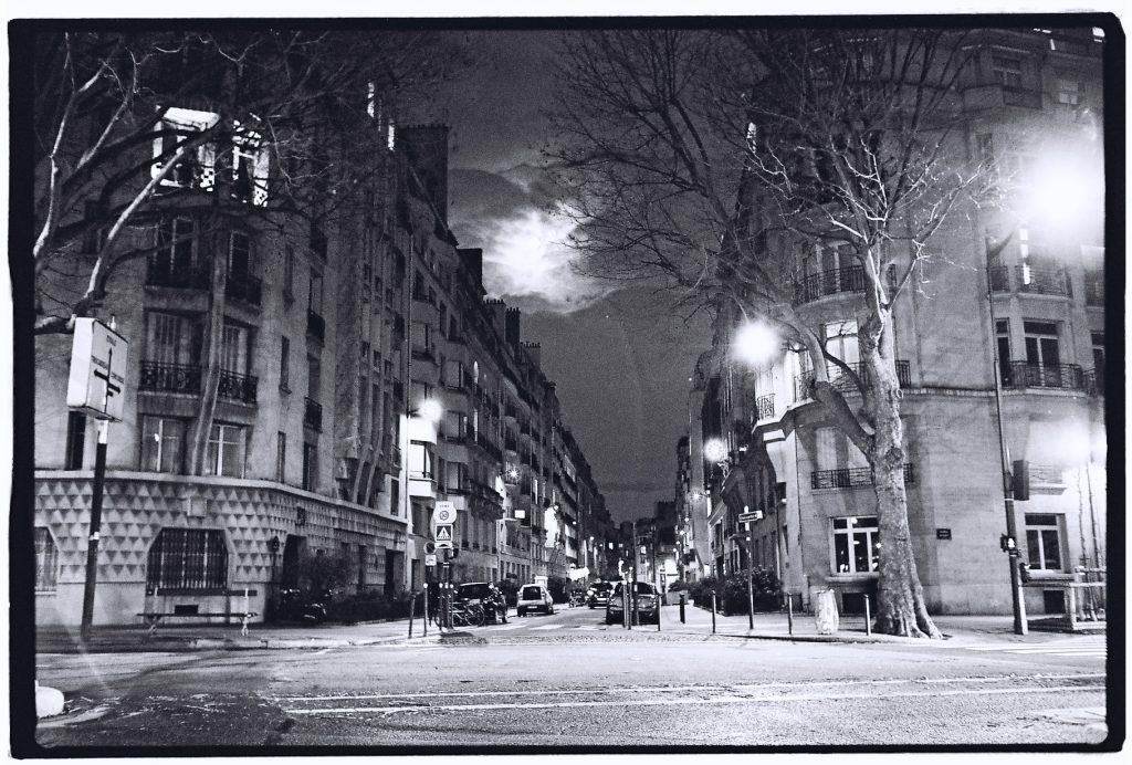 Rue Cognac-Jay sous le clair de lune