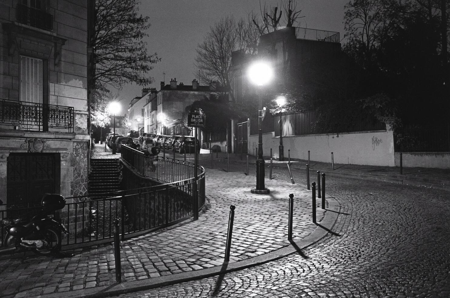 Photo Ville Nuit Noir Blanc Paris