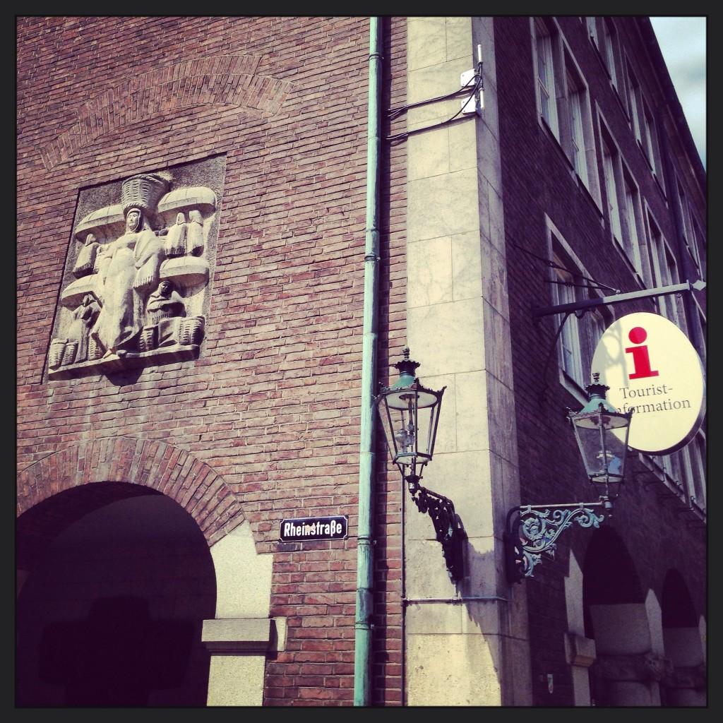 Une façade originale à Düsseldorf