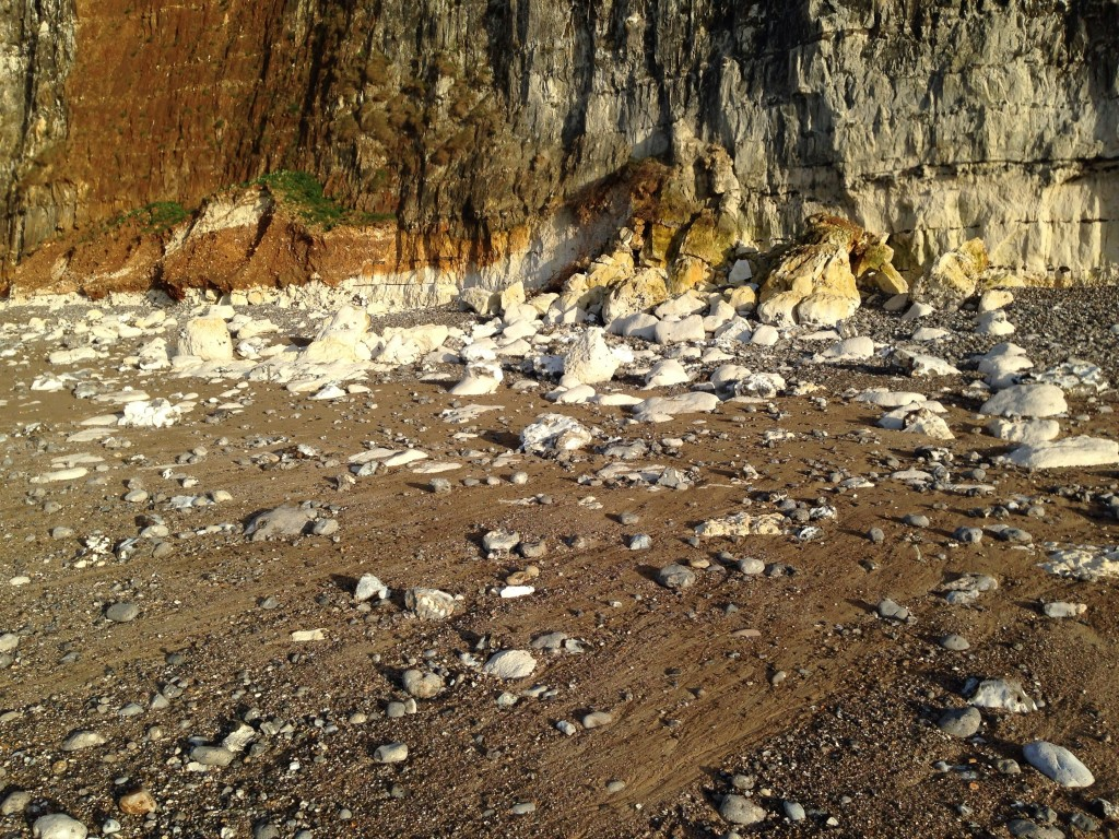 Attention chute de pierres