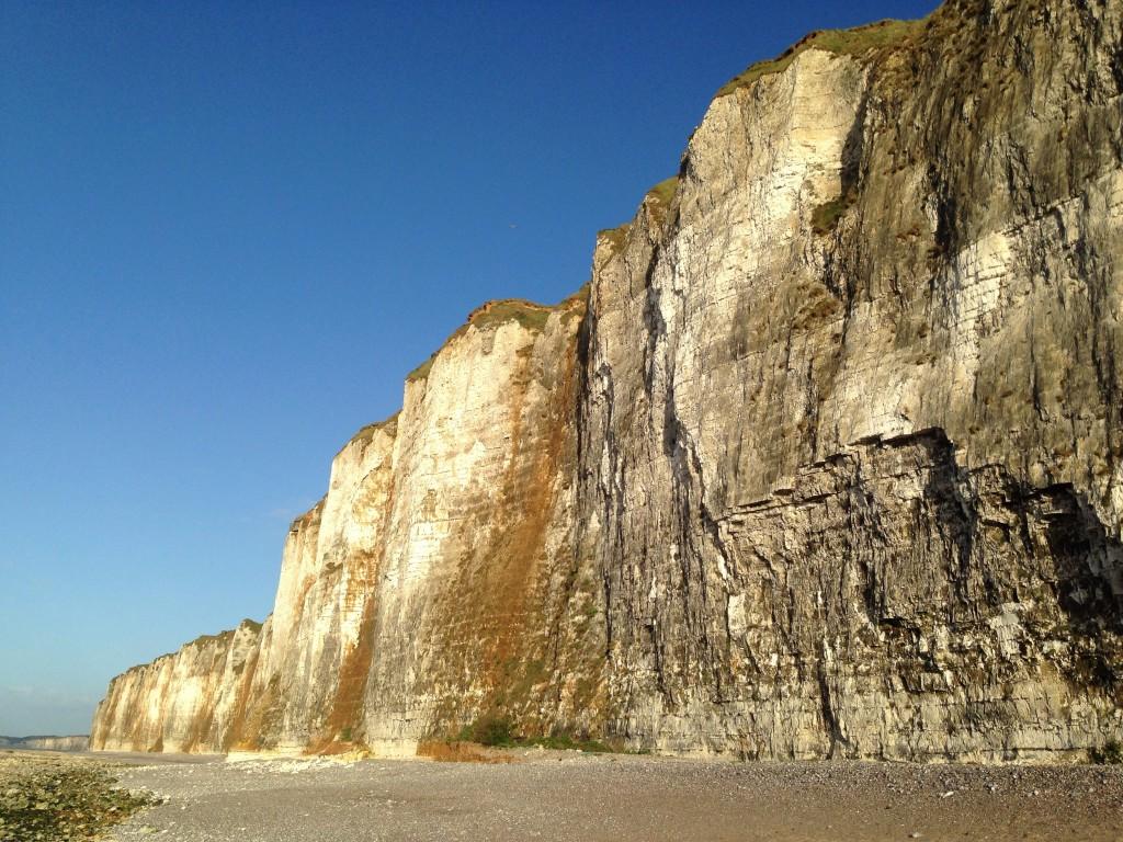 La côte d'Albâtre est un splendide défilé rocheux unique au monde