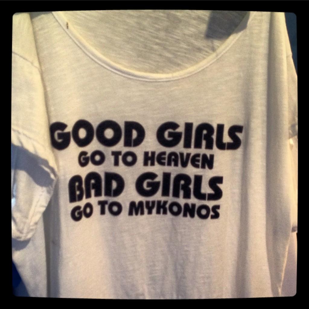 Bad girls go to Mykonos