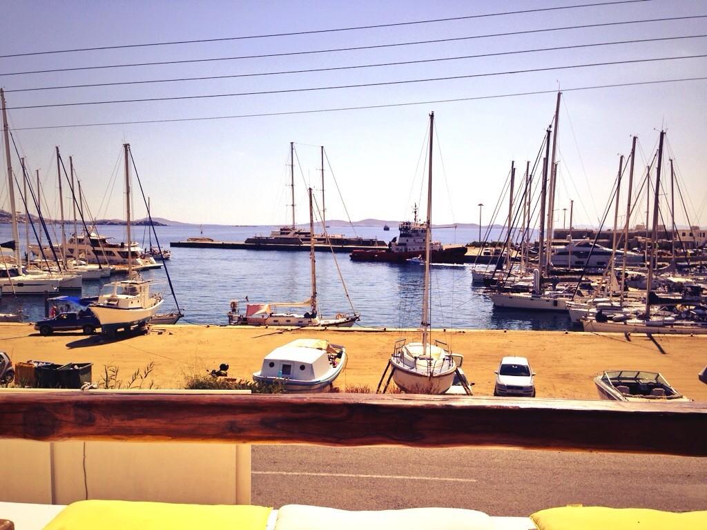 Le nouveau port de Mykonos