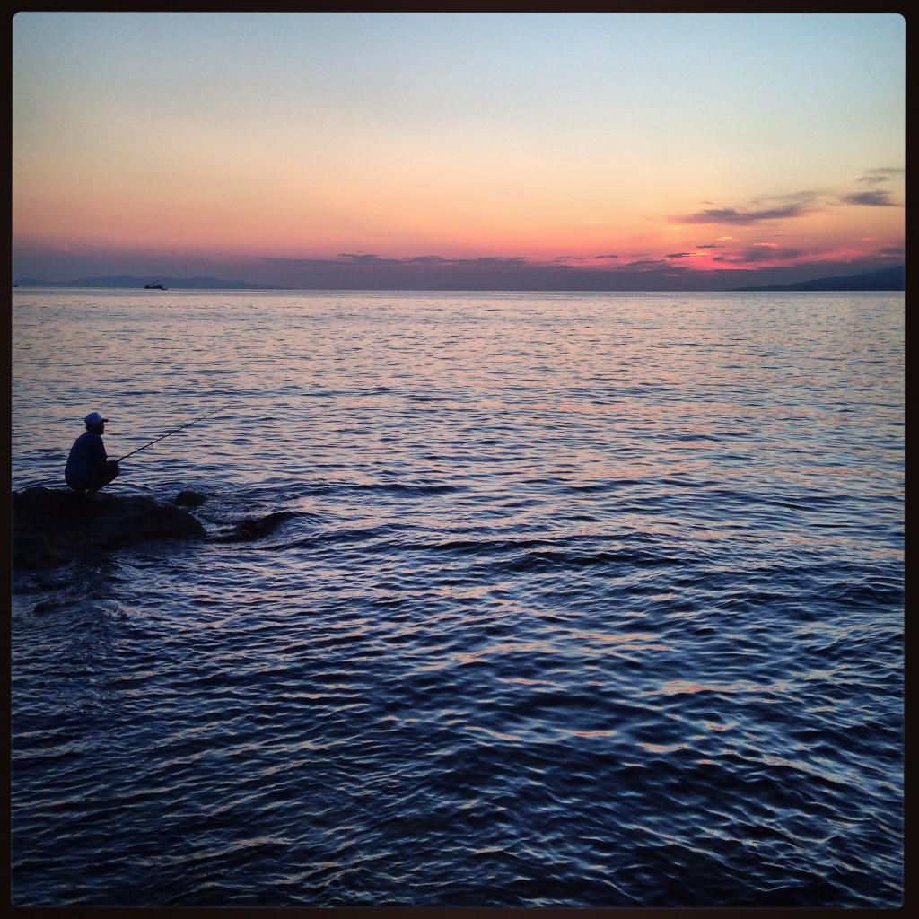 L'homme et la mer, Mykonos