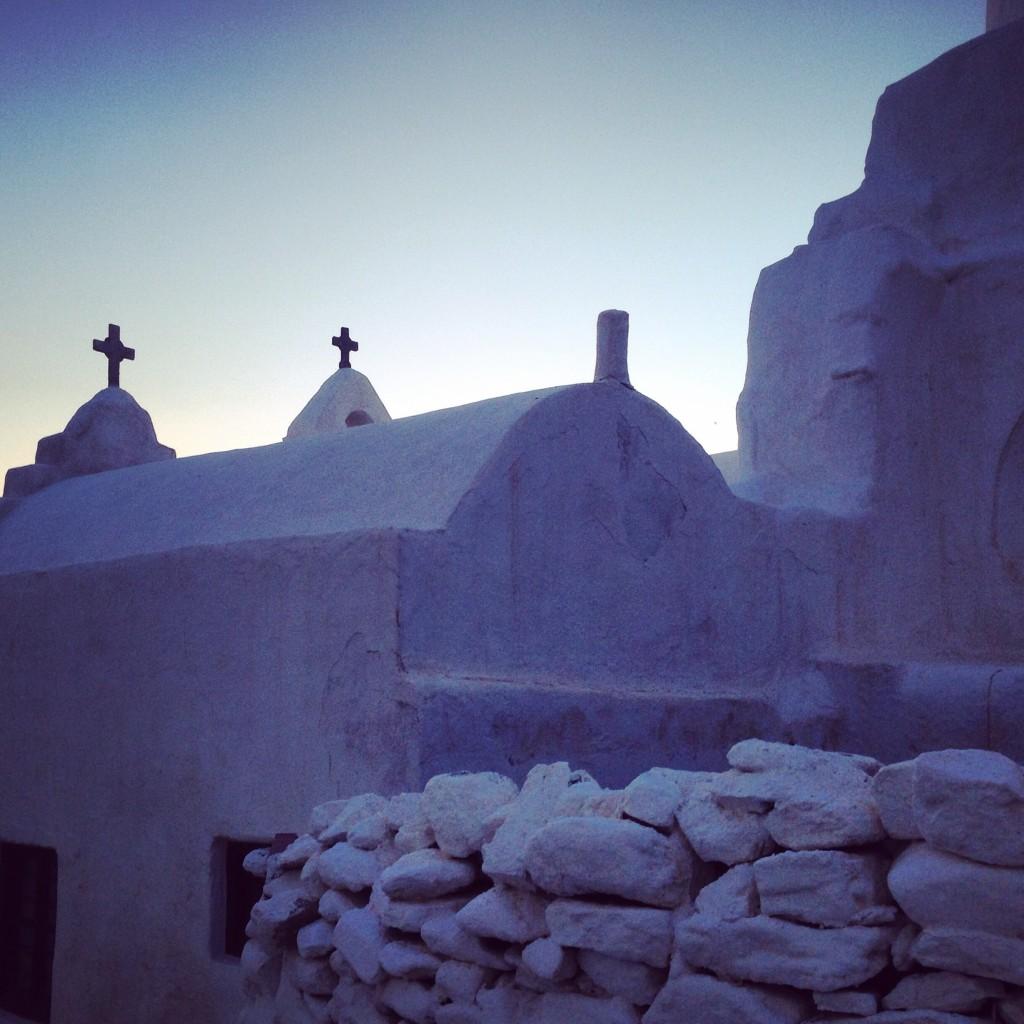 Une des nombreuses églises de Mykonos