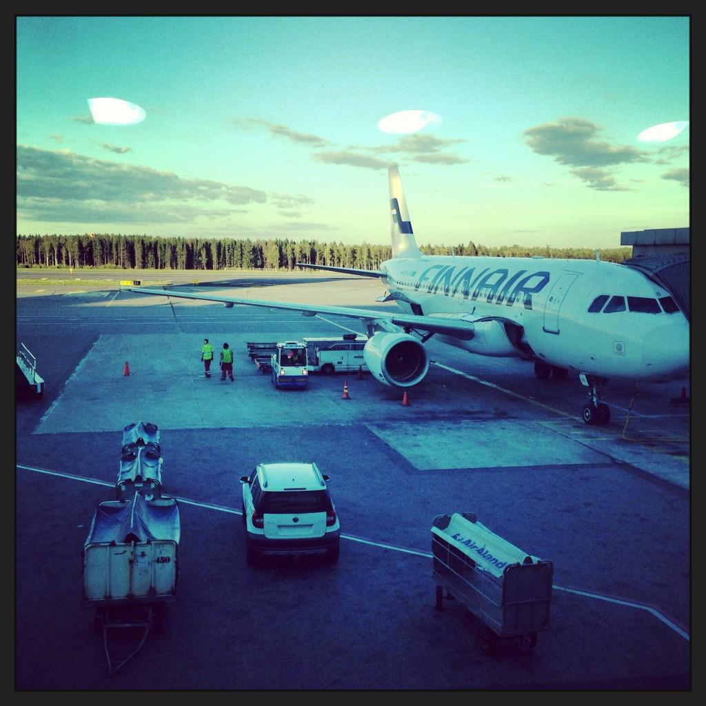 55. L'aéroport d'Helsinki