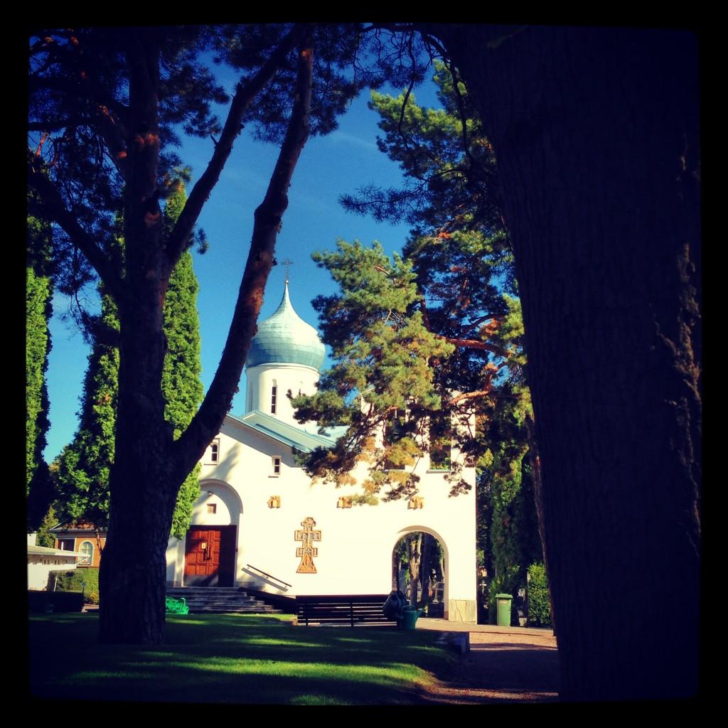 87. Une église orthodoxe russe à Helsinki, une ville sous influence