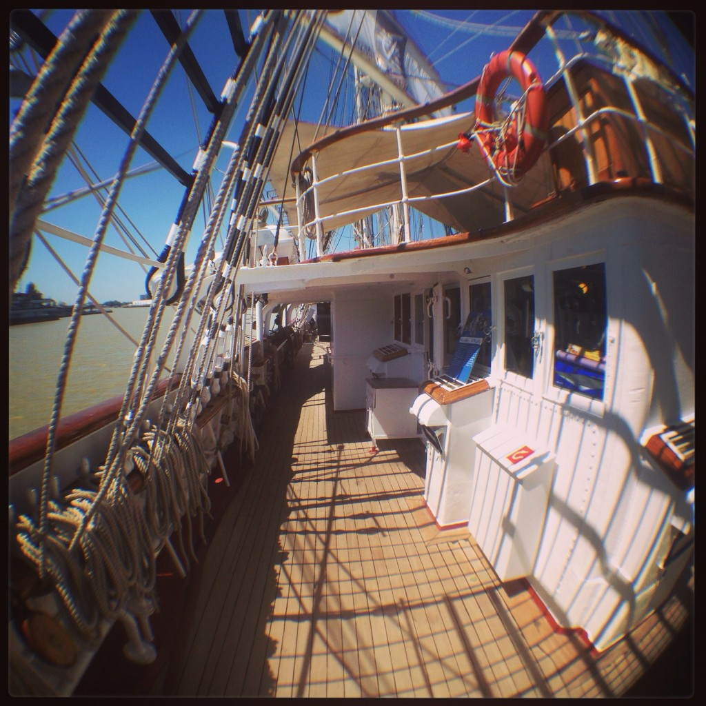 À bord