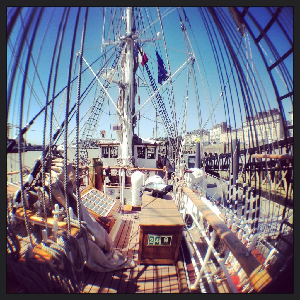 À bord du Belem, un patrimoine maritime exceptionnel