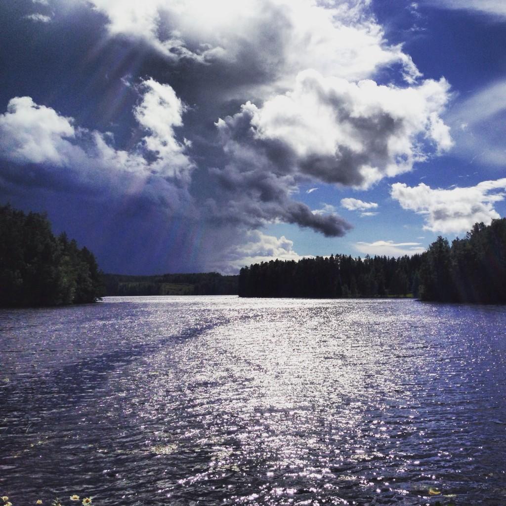 Un lac aux alentours de la ville de Mikkeli