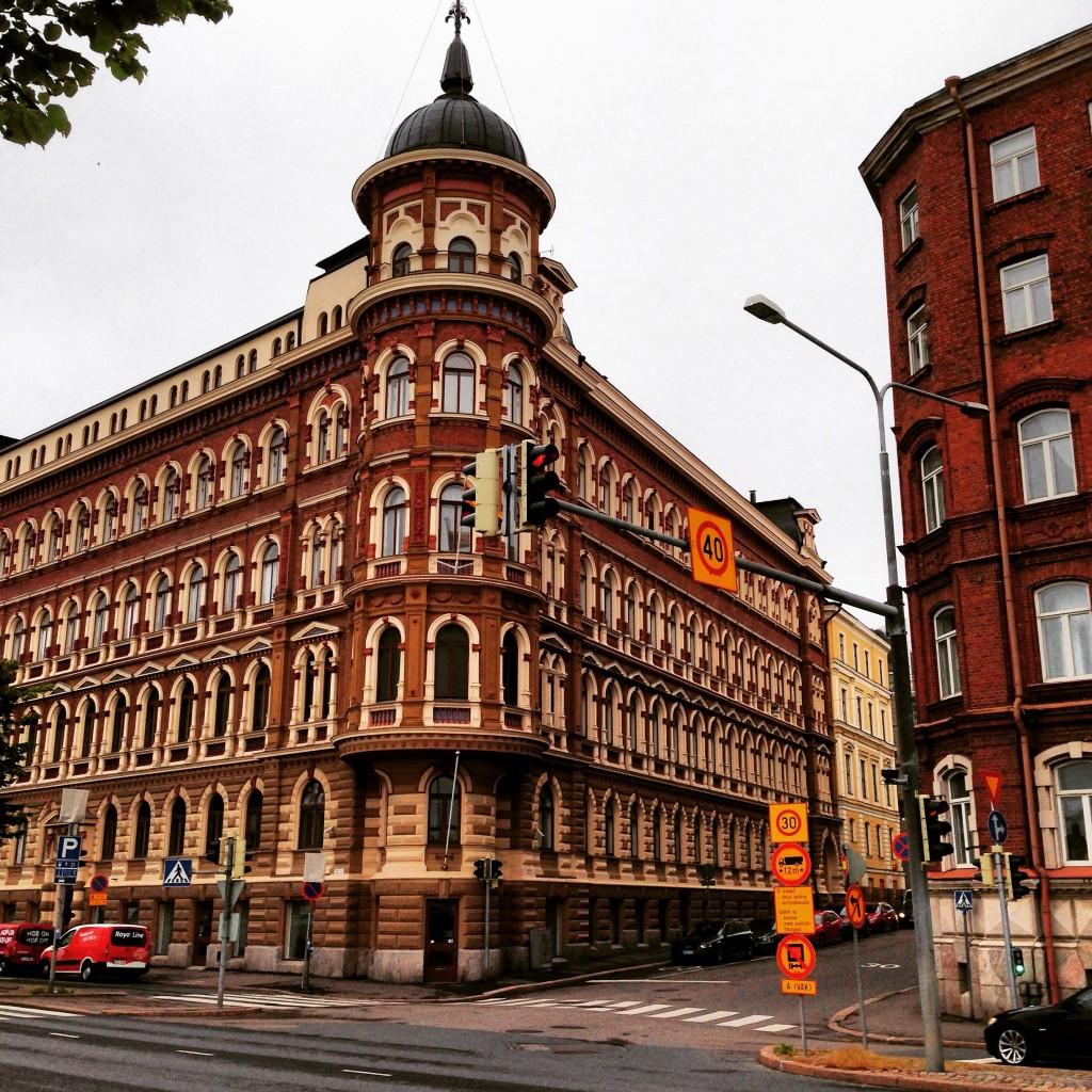 14. L'architecture typique de la capitale Helsinki