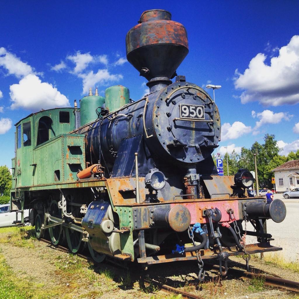 15. Une locomotive à charbon en exposition permanente à Joensuu