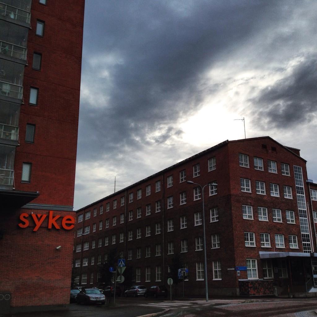 37. Les faubourgs de la ville de Lahti