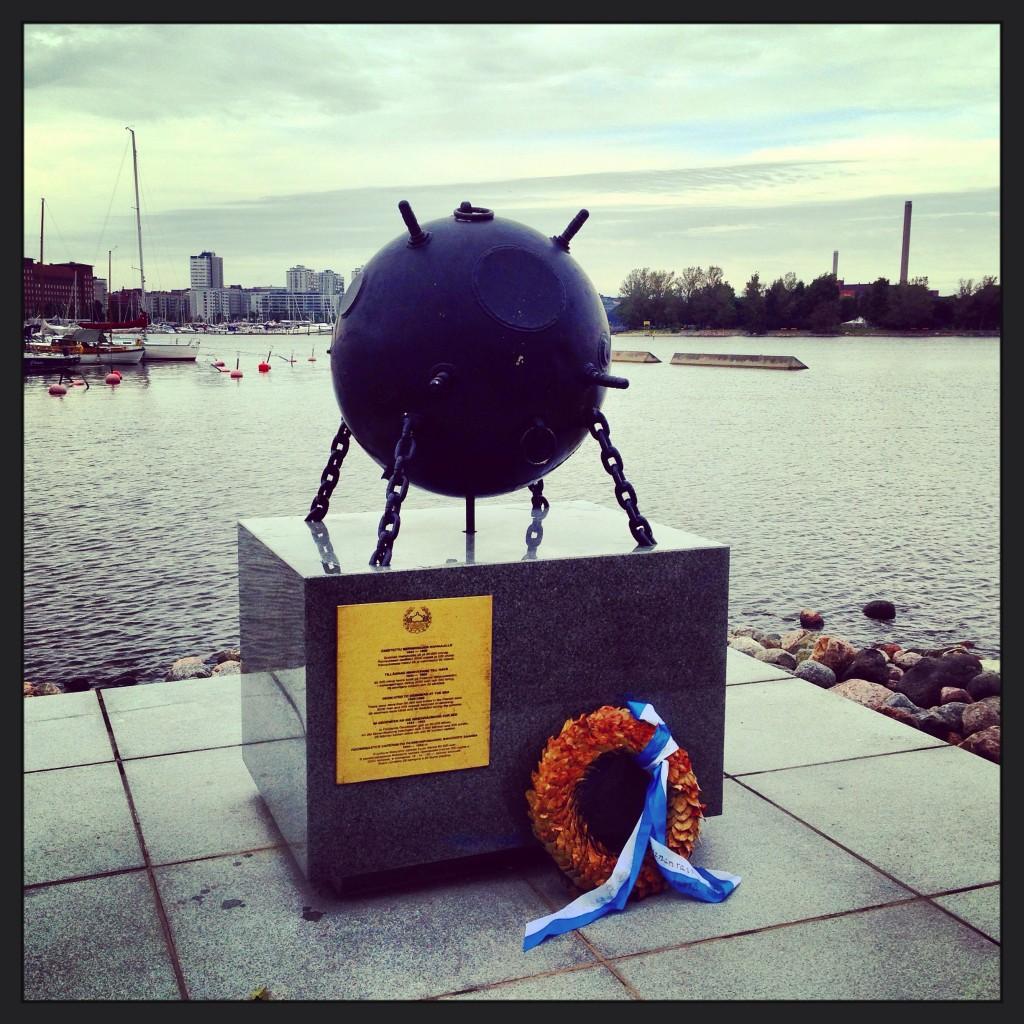 47. Un mémorial aux 35 démineurs qui sont morts en déminant la mer Baltique
