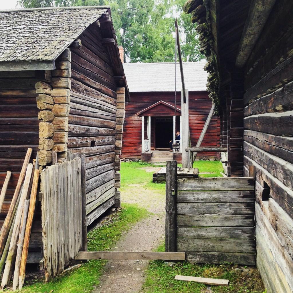 53. Une ferme traditionnelle en Finlande