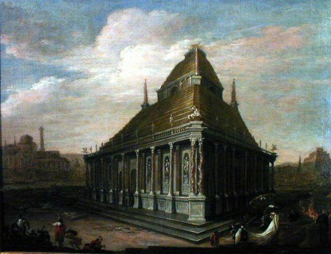 Le Mausolée, du peintre Wilhelm von EHRENBERG