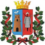 Les armoiries d'une des plus grandes villes de Russie: Rostov sur le Don
