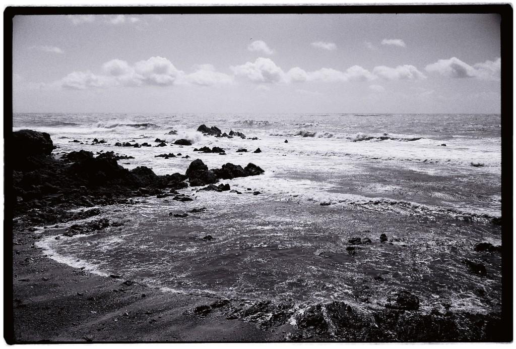 Batz-sur-mer un jour où la mer s'agite un peu