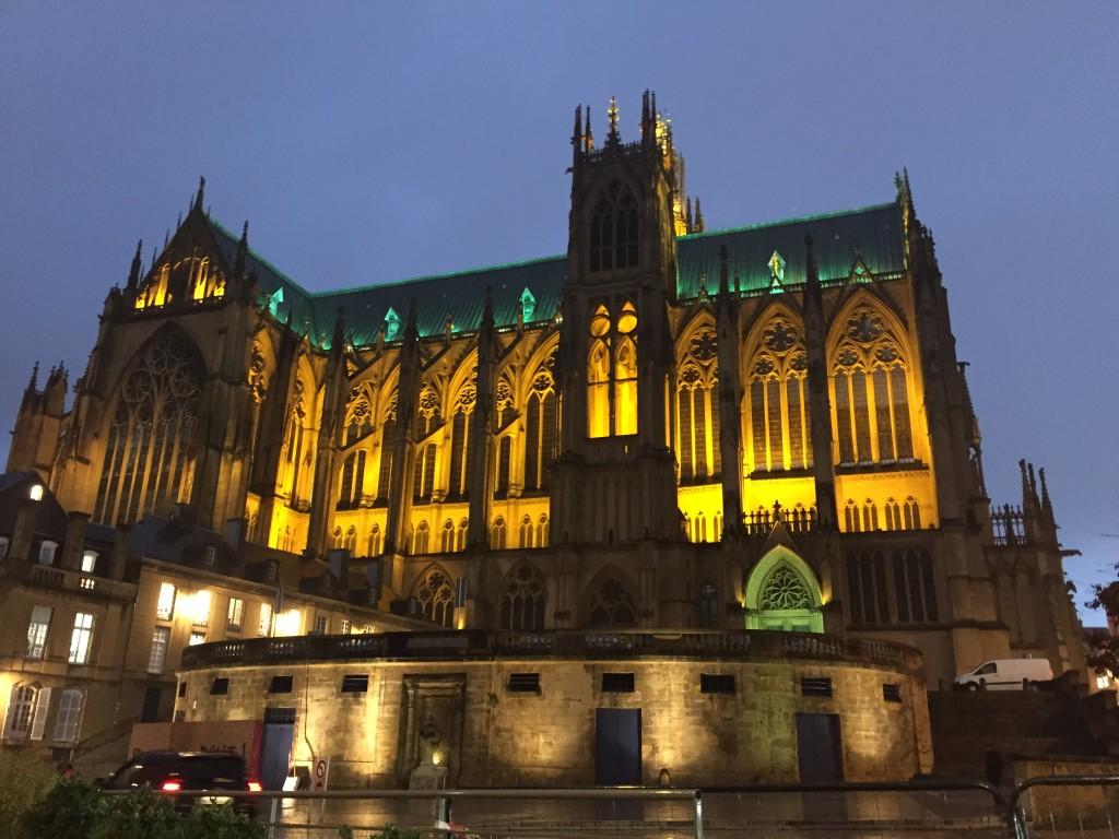 La belle cathédrale de Metz