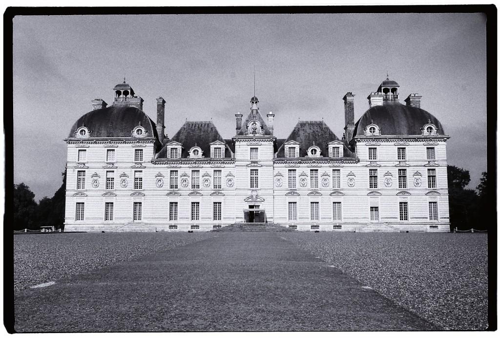 Le château de Cheverny qui fut emprunté par le dessinateur Hergé