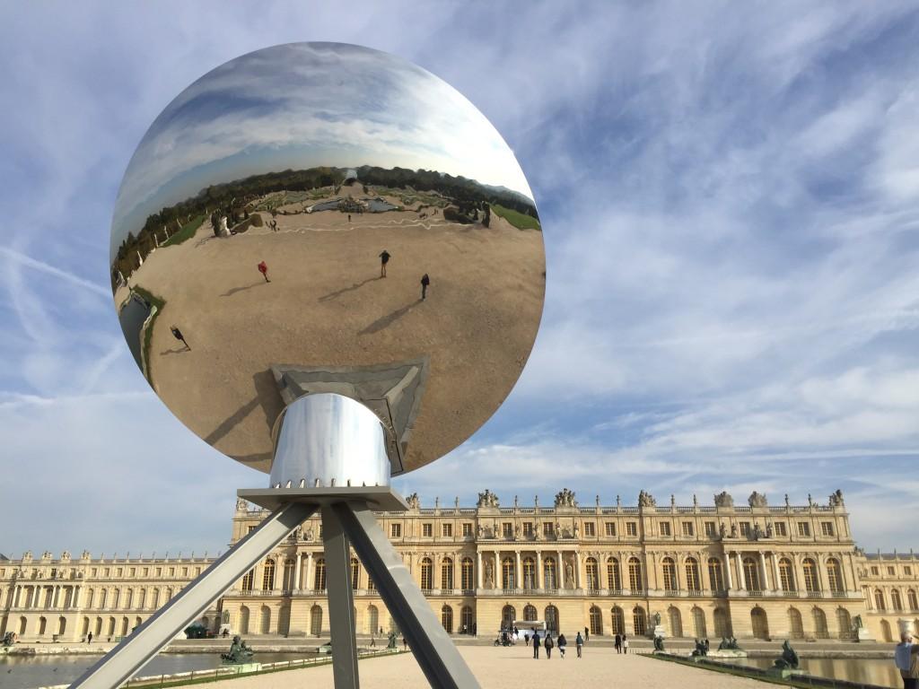 Le château de Versailles, but ultime du Roi Soleil