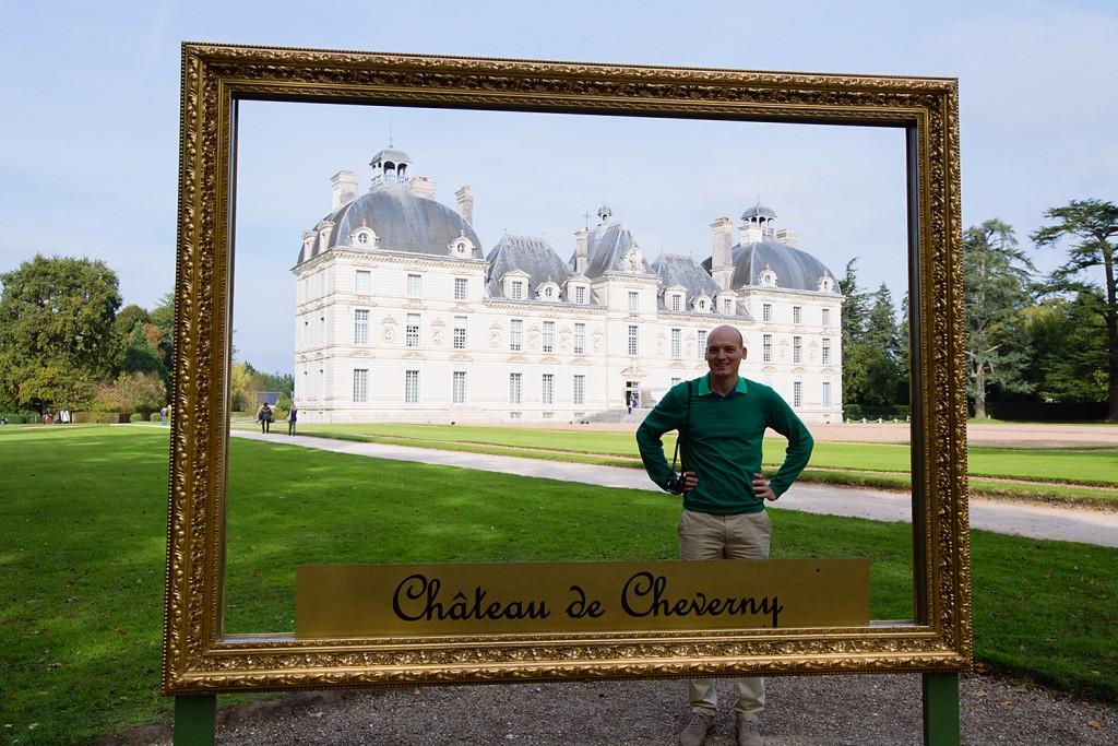 Visite au château de Cheverny