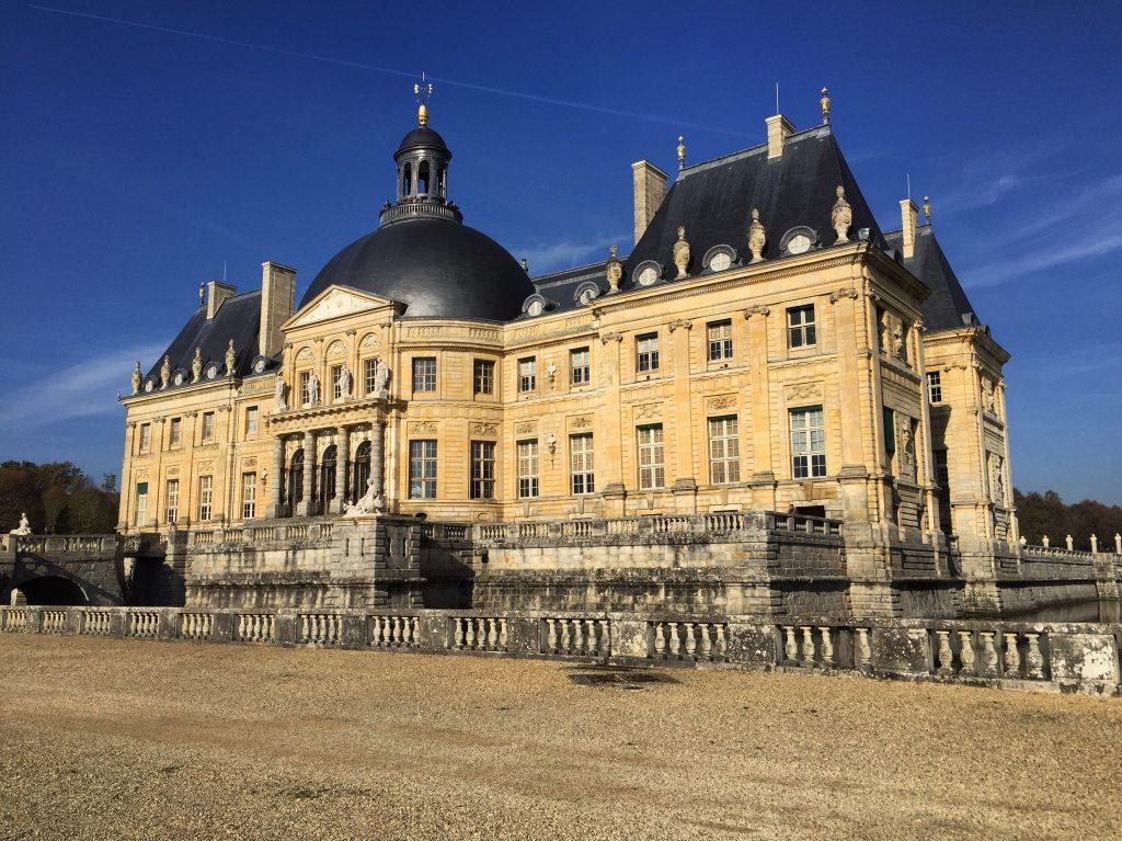 Le château de Vaux le Vicomte côté jardin