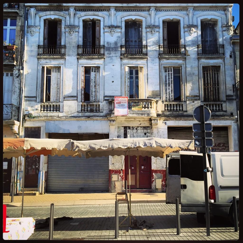 Un immeuble du quartier Saint-Michel