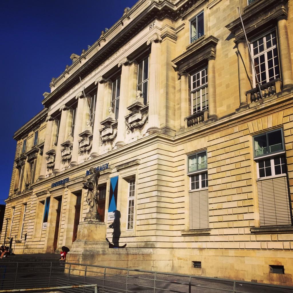 L'université de Bordeaux