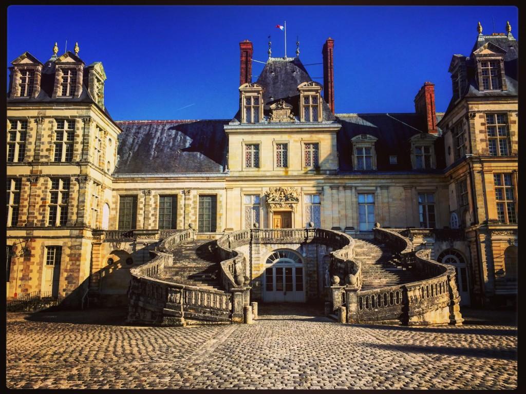 Fontainebleau l'un des plus beaux châteaux de France.