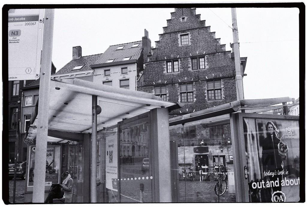 Une façade typiquement flamande