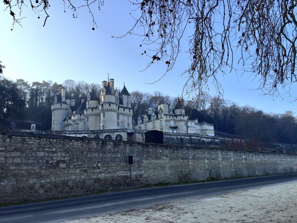Le château d'Ussé, l'un des plus emblématiques des châteaux de la Loire