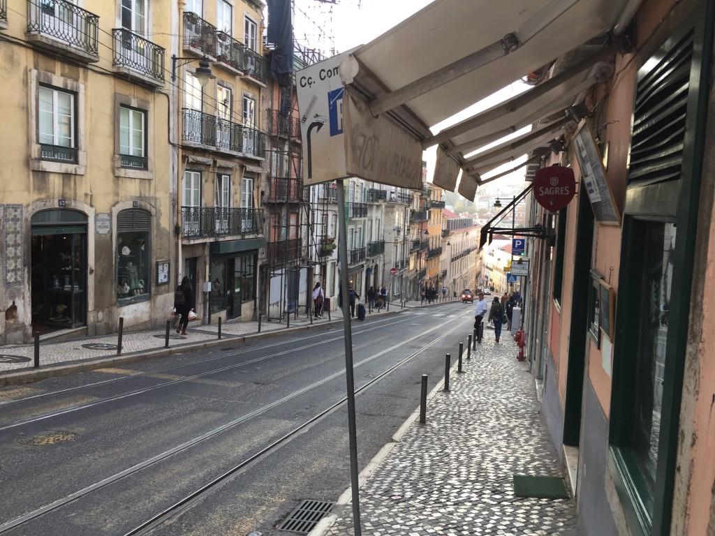 Les rues de Lisbonne ne sont pas de tout repos