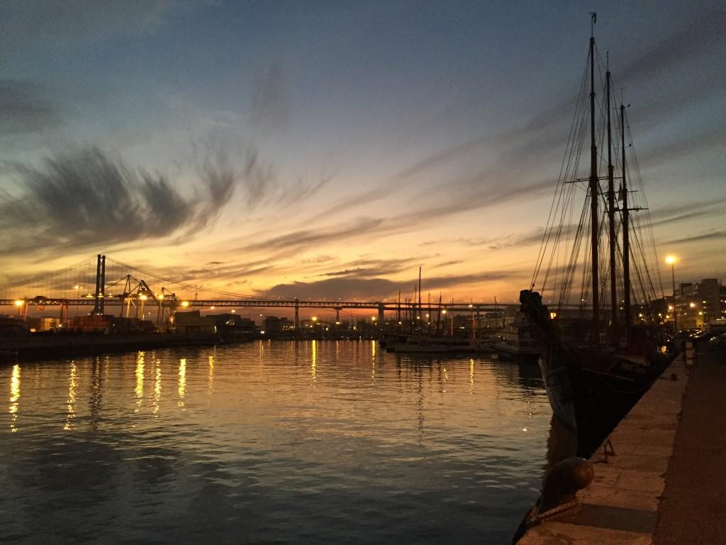 Lisbonne au crépuscule