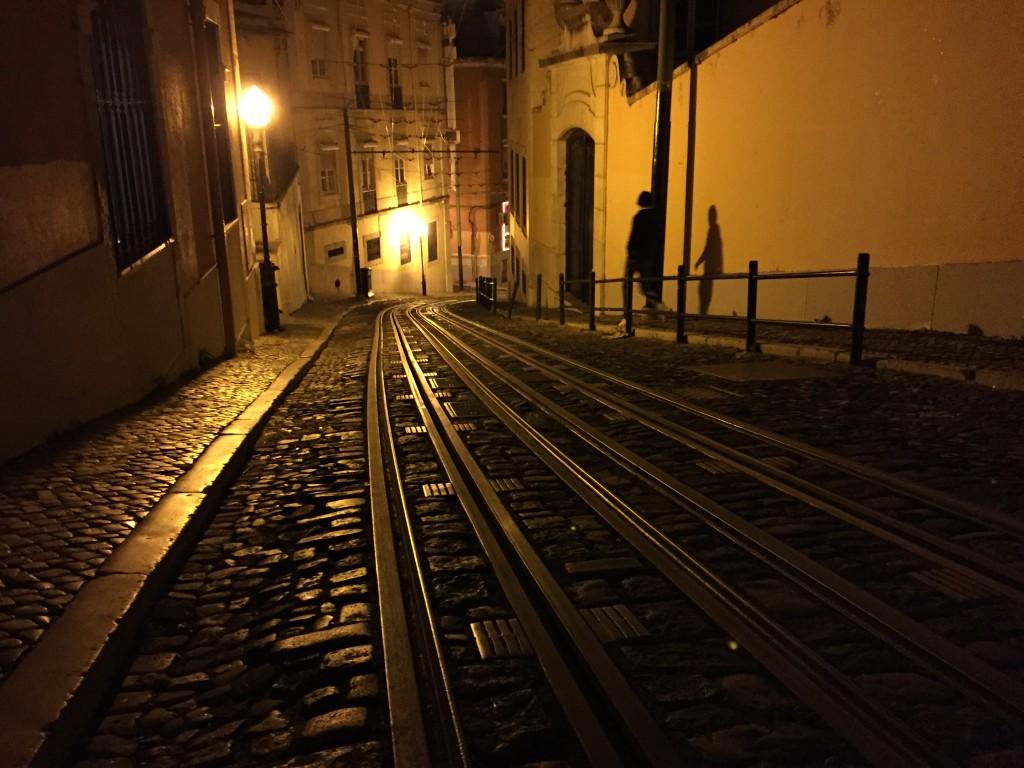 Lisbonne pendant la nuit