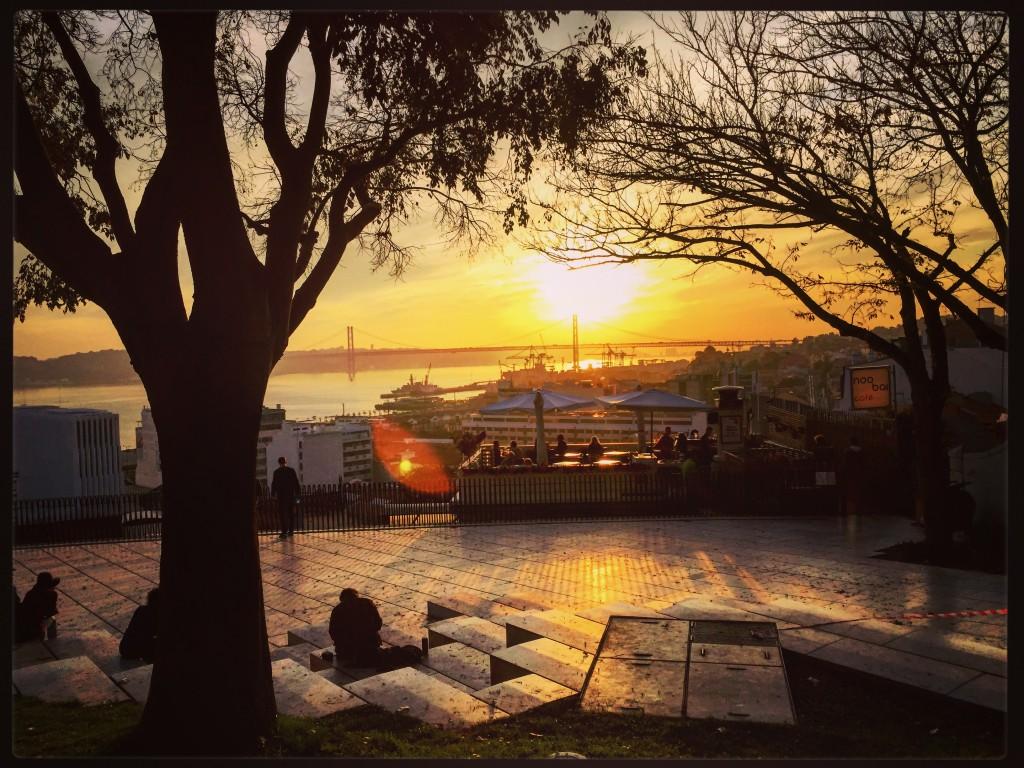 Un coucher de soleil inoubliable