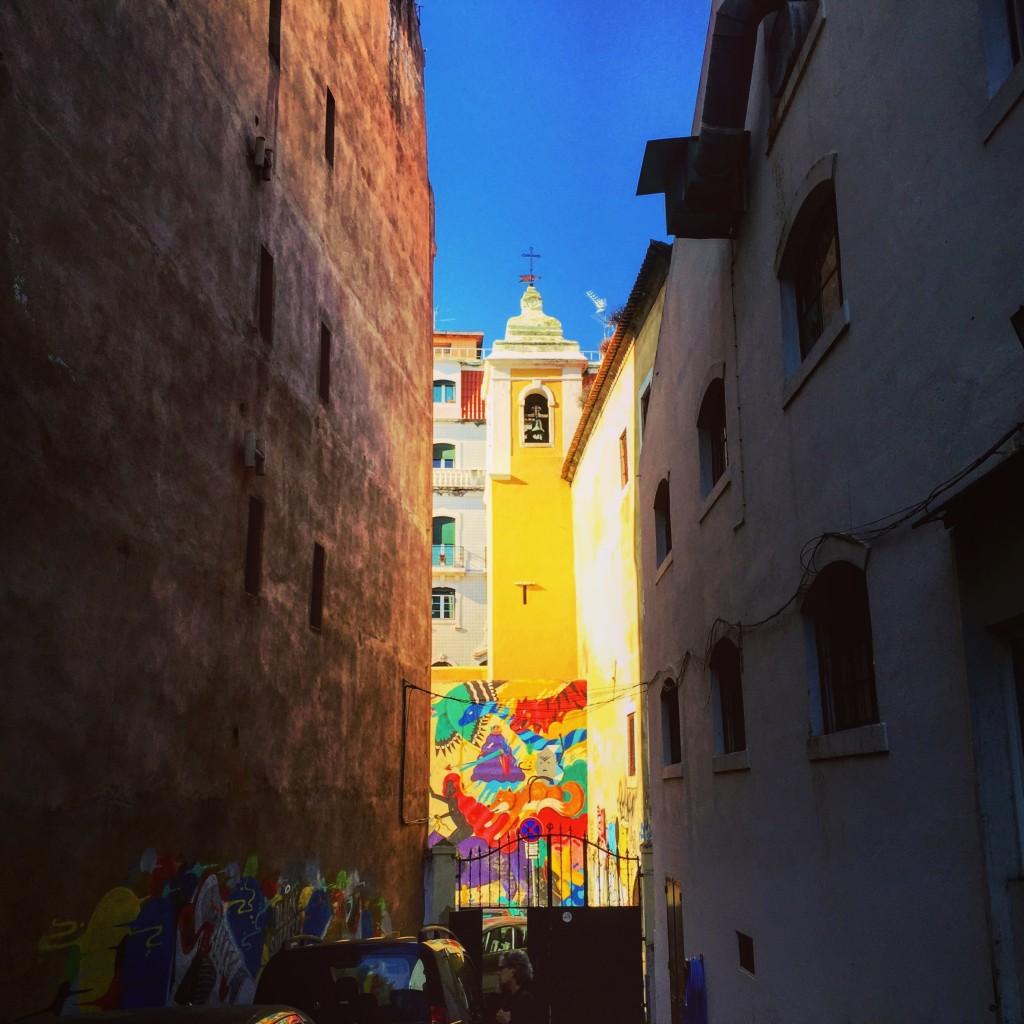 Une ville très colorée
