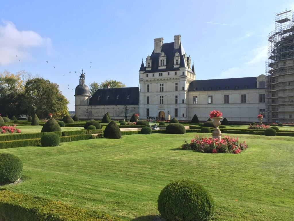 Le château de Valençay sous le soleil