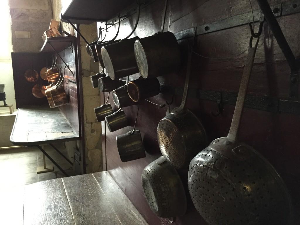 Les intruments de cuisine d'Antonin Carême, le cuisinier du château de Valençay