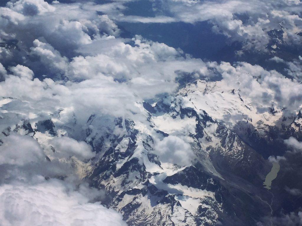Paris - Split, neige éternelle dans les Alpes, juillet 2016